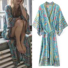 Spring Fashion, bohemia, Tassels, cardigan