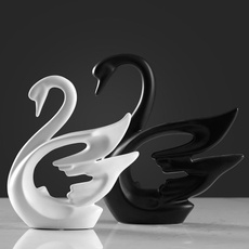 Cabinets, swan, gift for love, Ceramic