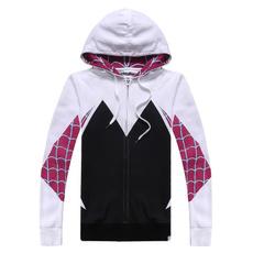 Spiderman, pullover hoodie, Long Sleeve, for girls