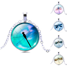 cute, dragonflypendantnecklace, art, Chain