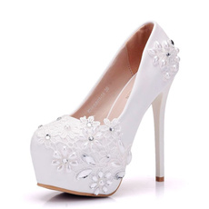weddingheel, Bridal, Lace, Womens Shoes