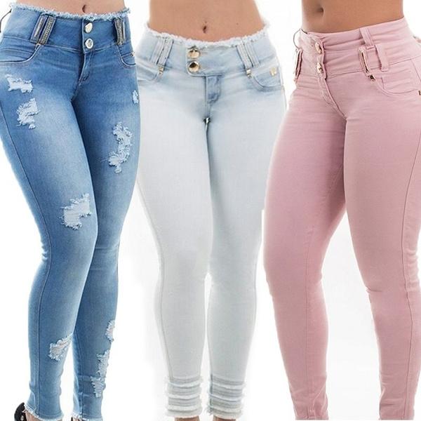 Women Pants, pencil, hightwaist, Fashion