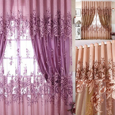 bedroomcurtain, Flowers, Door, Home Decor
