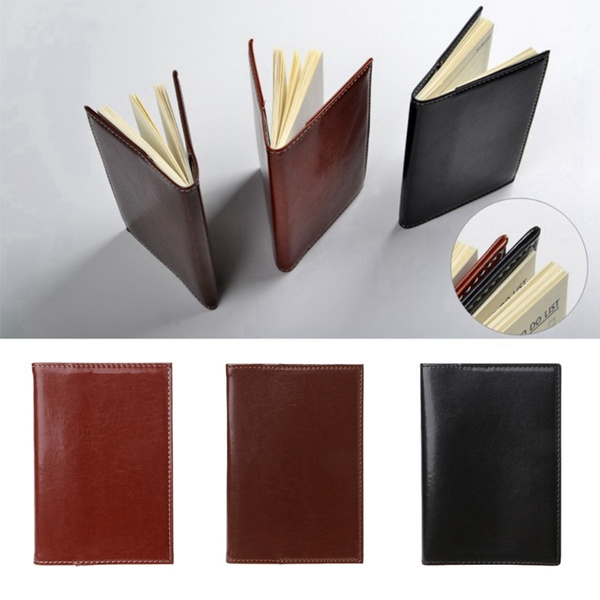 Mini, leather, notepad, Journal