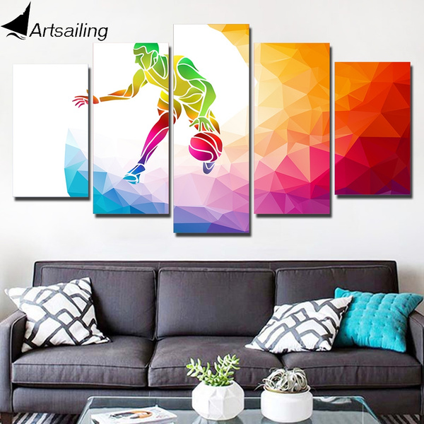 Modern, Wall Art, canvaspainting, 5piece