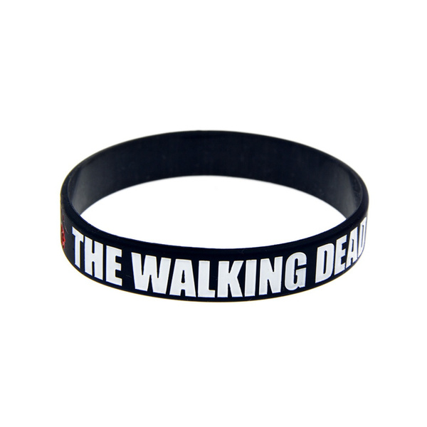 Bracelet, adultsize, thewalkingdeadsiliconewristband, promotiongift