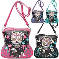 skullphonewallet, skullwallet, Floral, skull