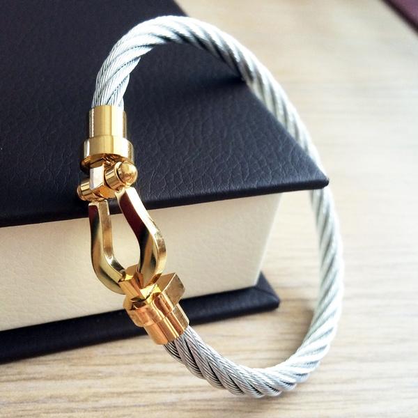 Steel, Titanium Steel Bracelet, Jewelry, Bangle