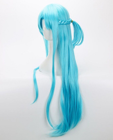wig, Blues, art, asuna