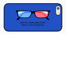 glassesiphone5scase, case, iphone 5, movieglassesiphonecase