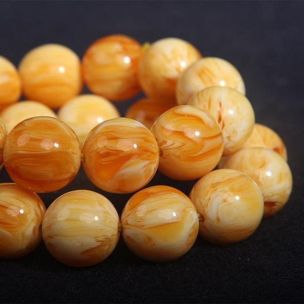 amber, Ball, astringofbead, Jewelry