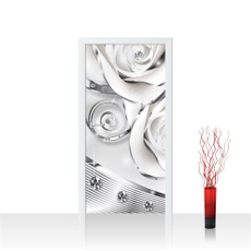 Fashion, Door, Home Decor, doorsticker
