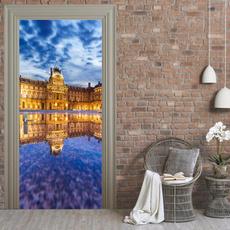 Fashion, art, Home Decor, doorsticker