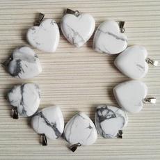whitestonebead, Corazón, Love, Joyería