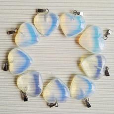 Heart, opalstone, Jewelry, pendantsforjewelrymaking
