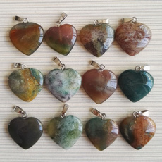 Heart, indiaonyxstonependant, Love, Jewelry