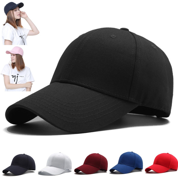 Adjustable Baseball Cap, popularcasualhat, snapback cap, solidcolorcap