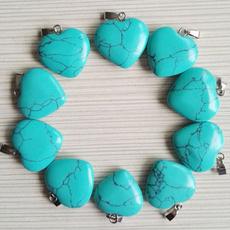 Heart, Jewelry, pendantsforjewelrymaking, calaitestone
