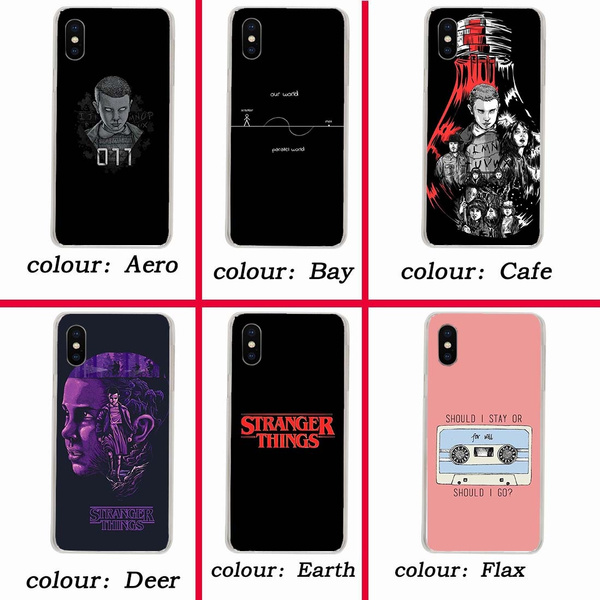 256wf stranger things Hard Case for Coque iphone x XR XS MAX 10 8 7 6s 6 plus 5 5s 5C SE 4 4s Cover | Wish