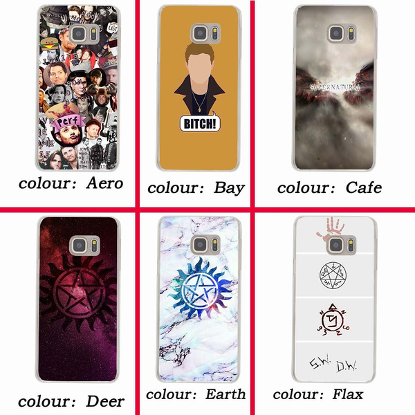 259wf SUPERNATURAL Hard Case for Samsung Galaxy A3 A5 2018 2017 J7 J5 J3 2016 2015 Grand Prime Coque for Samsung Galaxy S9 S8 Plus S7 S6 Edge S5 S4 S3 ...