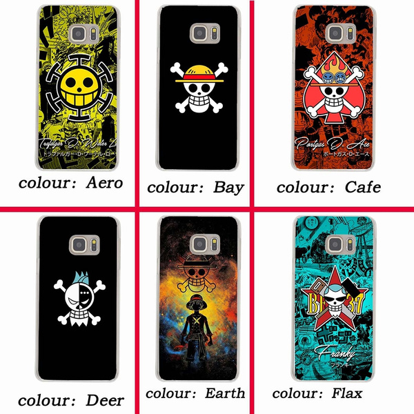 225wf one piece Hard Case for Samsung Galaxy A3 A5 2018 2017 J7 J5 J3 2016 2015 Grand Prime Coque for Samsung Galaxy S9 S8 Plus S7 S6 Edge S5 S4 S3 ...