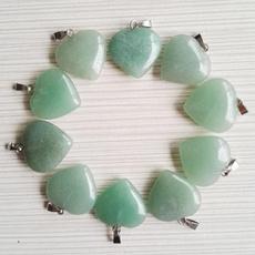 Heart, Stone, greenaventurine, Love