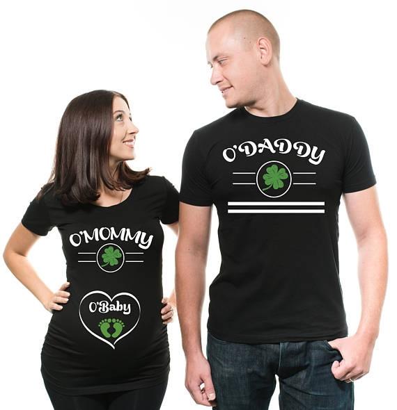 Funny, maternitytshirt, stpatrcksday, pregnancyshirt