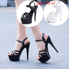 stilettoheel, Summer, Shoes, platformheel