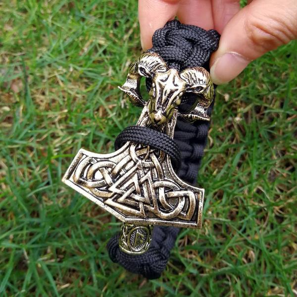 viking, amuletbracelet, paracordropebracelet, Jewelry