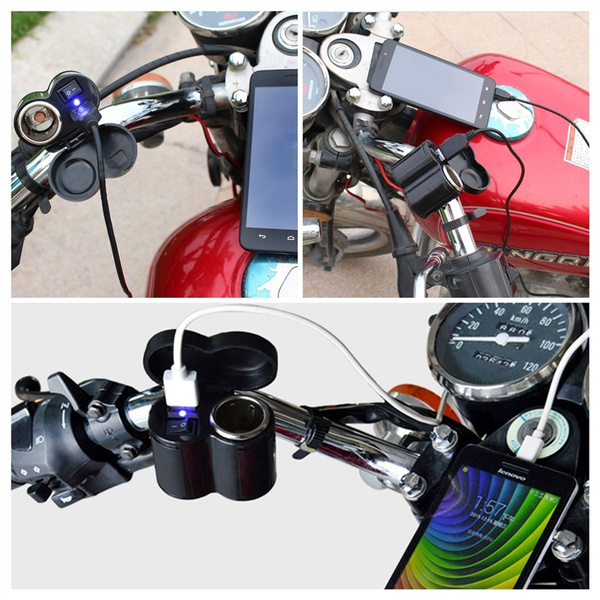 usb, Waterproof, motorcyclecigarettelighter, charger