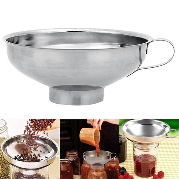 Steel, Kitchen & Dining, canning, funnelfilter