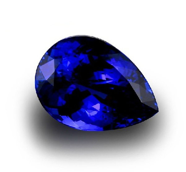 Blues, Cut, Blue Sapphire, unheated