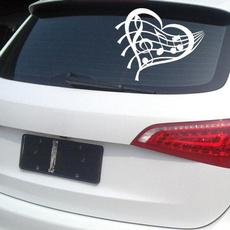 Car Sticker, Love, Pvc, Heart