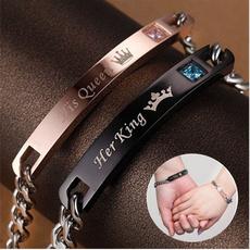 Steel, King, Titanium Steel Bracelet, Joyería