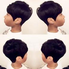 wig, blackshortwig, shortbobwig, beautywig