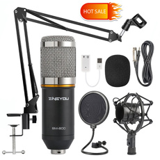 Microphone, Mount, soundstudio, condensermicrophone