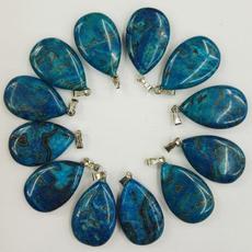 Blues, blueagatependant, Fashion, Jewelry