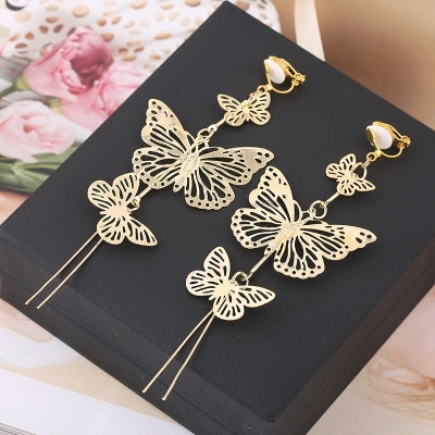 butterfly, Tassels, Fashion, Jewelry