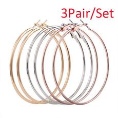 Jewelry Set, Hoop Earring, Jewelry, gold