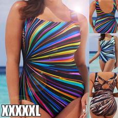 Deep V-Neck, Fashion, plus size bikinis, Halter