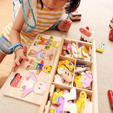 Toy, Puzzle, Jigsaw, Children