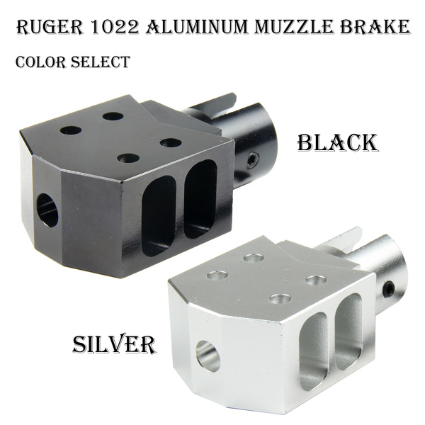 ruger1022, muzzlebrake, Aluminum