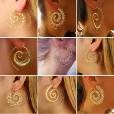 Heart, Hoop Earring, punk earring, Earring