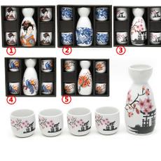 Antique, pink, potterysakeset, sake
