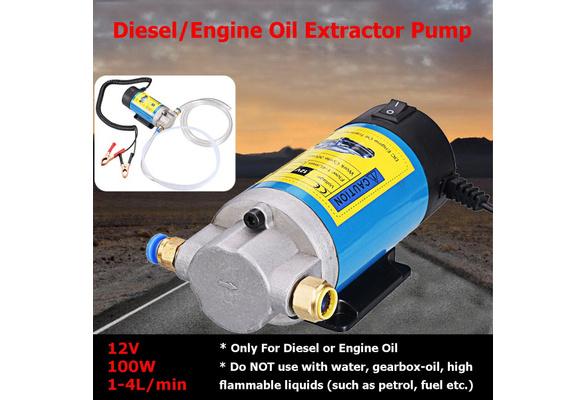 Electric Fuel Pump 12V Transfer Waterproof Leak-proof Pump 9 meters(30 feet)conveying distance Oil Transfer Extractor