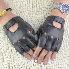 fingerlessglove, hollowglove, leather, motorcycleglove