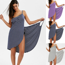 Women, Plus Size, wrap dress, Dress