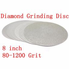 8inchdiamondgrindingwheel, 8inchdiamondflatlap, Jewelry, electroplateddiamonddisc