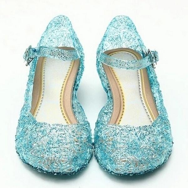Blues, wedge, Sandals, Lolita fashion