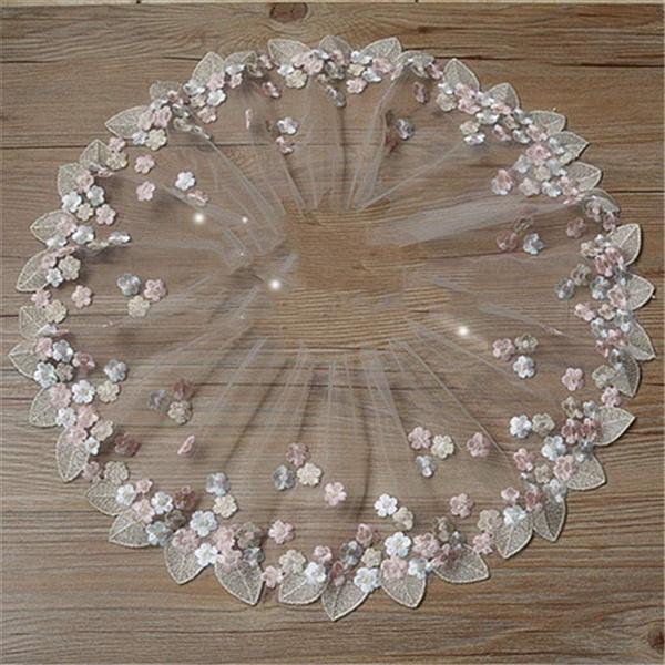lace trim, embroiderylace, Floral, Lace